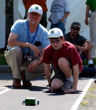 father son_solar car race