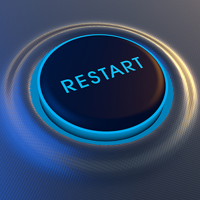 Restart button image
